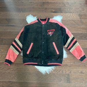 NFL Tampa Bay Buccaneers Vintage Suede Leather Men